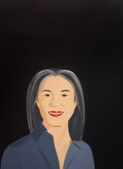Ada Smiles , Alex Katz