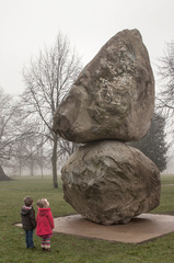 Rock on Top of Another Rock, Peter Fischli & David Weiss