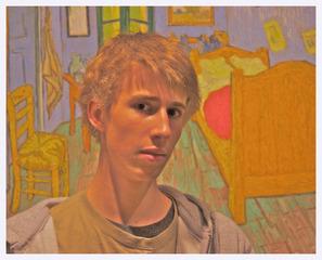 Portrait of Max, Leroy Twarogowski