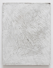 Untitled (soiled white leather) , Cheryl Donegan