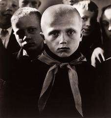 'Pioneer, Ignalina' or 'The First Grader' , Antanas Sutkus