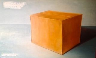 Untitled (cardboard box on ground), Kay Kropp