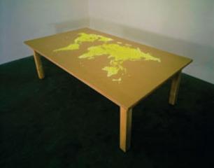Plotting Table, Mona Hatoum