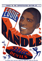 Eddie Randle Band Poster,