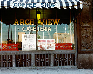 7th and Chestnut, Arch View Cafeteria, Joel Meyerowitz