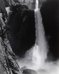 Lower Yosemite Fall, Yosemite National Park, California, Ansel Adams