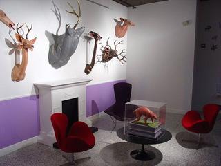 Trophy Room Installation shot, Joshua Levine