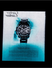 Untitled Watch Ad (Cartier W7100016), Negative II , Jason Kalogiros