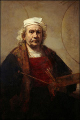 Portrait of the Artist , Rembrandt van Rijn