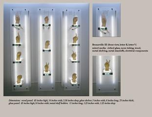 Bronzeville III (detail), Kathie Foley-Meyer
