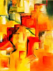 Town in Licht I, Carmen Rantzuch-Doll