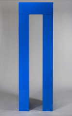 Blue Post and Lintel I, John McCracken