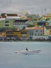 Boat Painting,Marisa Murrow