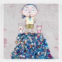 Kaikai Kiki & Me: On the Blue Mound of the Dead , Takashi Murakami