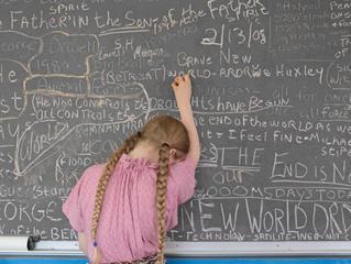 """""""Homeschooling Chalkboard, Tennessee"""", Lucas Foglia"""