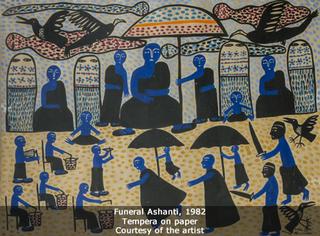 Funeral Ashanti, Manuel Mendive