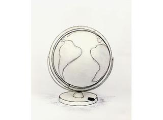 Representation #69 (globe), Cynthia Greig