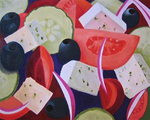 Greek Salad, Toni Silber-Delerive