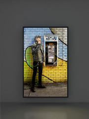 Old Punk on Pay Phone, Rodney Graham