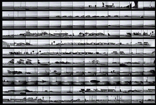 Contact sheet for Pacific Coast Highway , Ed Ruscha