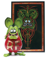 "Jack ""The Italian"" Giachino: Self-Portrait Rat Fink ,"