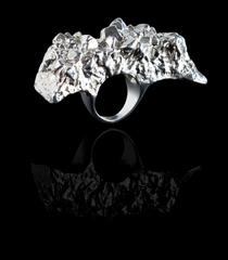 Amethyst Cast Ring, Jules Kim