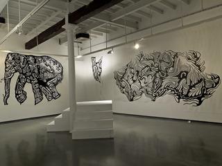 Installation view, Amitabh Kumar