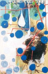Birds and Blue bubbles , Chao Chung-Hsiang
