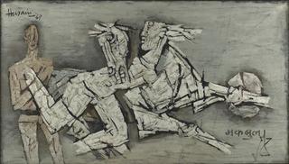 Untitled, MF Husain