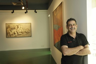 Curator and gallery owner, Sovereign Dubai, Dadiba Pundole