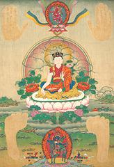 Thangka of the Thirteenth Karmapa, Dudul Dorje,