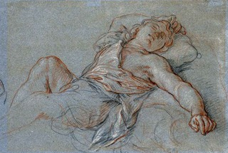 Sleeping Rinaldo, Charles de la Fosse