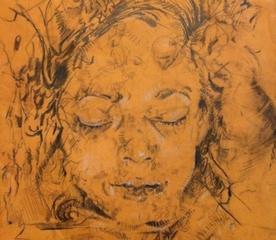 Fayum Portrait by Lauren A. Toomer,