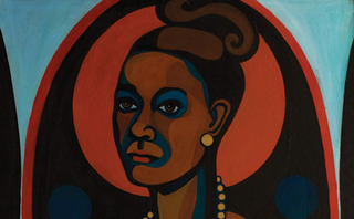 Early Works #25, Self-Portrait (detail), Faith Ringgold