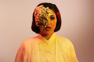 MASK played by Houda Echouafni / Piercing Brightness  ,Shezad Dawood