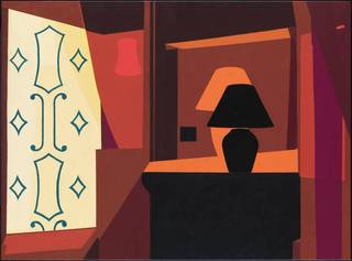 Braque Curtain , Patrick Caulfield