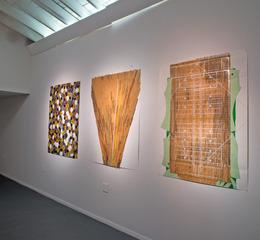 installation shot - ULAMA, ULE, OLE  exhibit , Ronny Quevedo