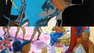 Jazz Rhapsody, Romare Bearden
