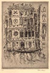 Palazzo Dario, Venice, John Marin