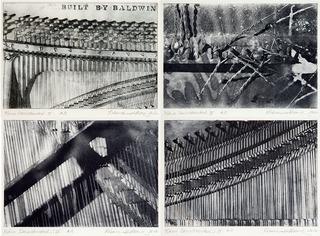 Piano Deconstructed - I, II, III, IV, Rebecca Harvey Pollack