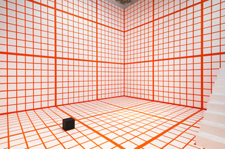 Orange Grid, Channa Horwitz