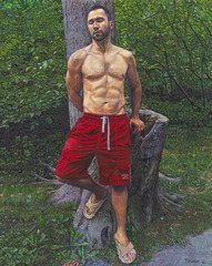 Ricardo With Tree , George Towne
