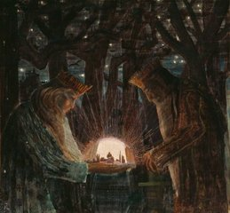 Sprookje (Sprookje van de Koningen), Mikolajus Konstantinas Čiurlionis