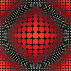 Untitled, Victor Vasarely