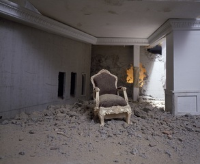 The Ashes Series: Chair ,Wafaa Bilal