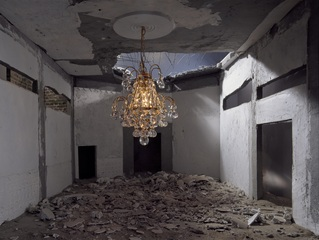 The Ashes Series: Chandelier, Wafaa Bilal