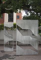 Trilingual   Exterior installation view, Karun Kumbera