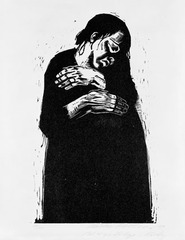 The Widow I (Die Witwe I) , Käthe Kollwitz