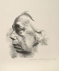 Self Portrait (Selbstbildnis) , Käthe Kollwitz