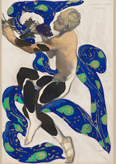costume design for Vaslav Nijinsky as the Faun, Léon Bakst